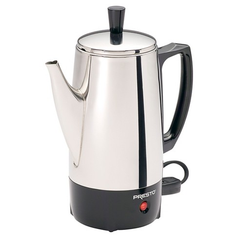 how to clean a burnt stainless steel coffee pot
