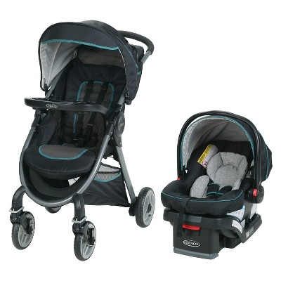 Graco Fast Action 2.0 Travel System - Darcie