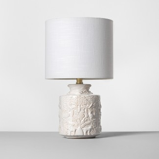 Ceramic Table Lamp White (Lamp Only) - Opalhouse™