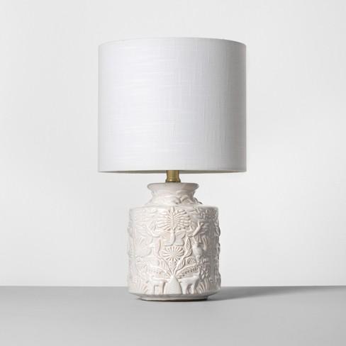 Ceramic Table Lamp White Opalhouse Target