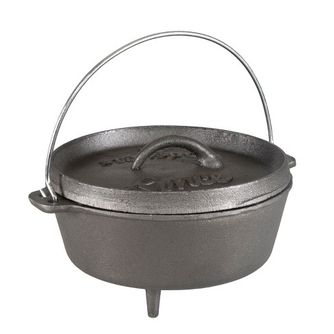 Stansport 2 QT Cast Iron Dutch Oven With Legs - image 1 of 3