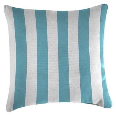 Jordan Set of Accessory Toss Pillows - Cabana Stripe Turquoise