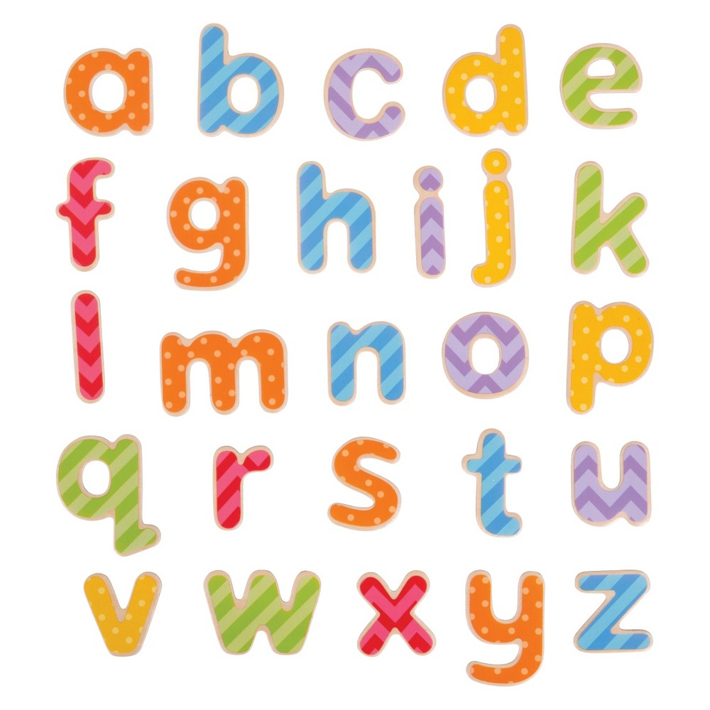 Bigjigs Magnetic Letters - Lowercase