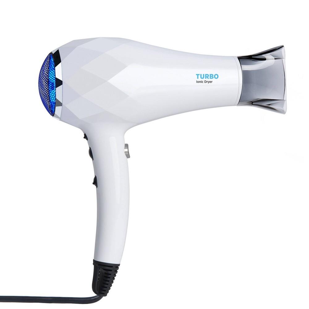 Image of Instyler Blu Turbo Ionic Hair Dryer - 1500 Watts, White