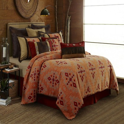 Saverio Corrales Sunset Unique Southwest Bedding Set With Comforter, Sham & Bed Skirt