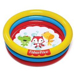 Fisher Price 3 Ring Fun And Colorful Ball Pit Pool For Ages 2 And Up (2 Pack)