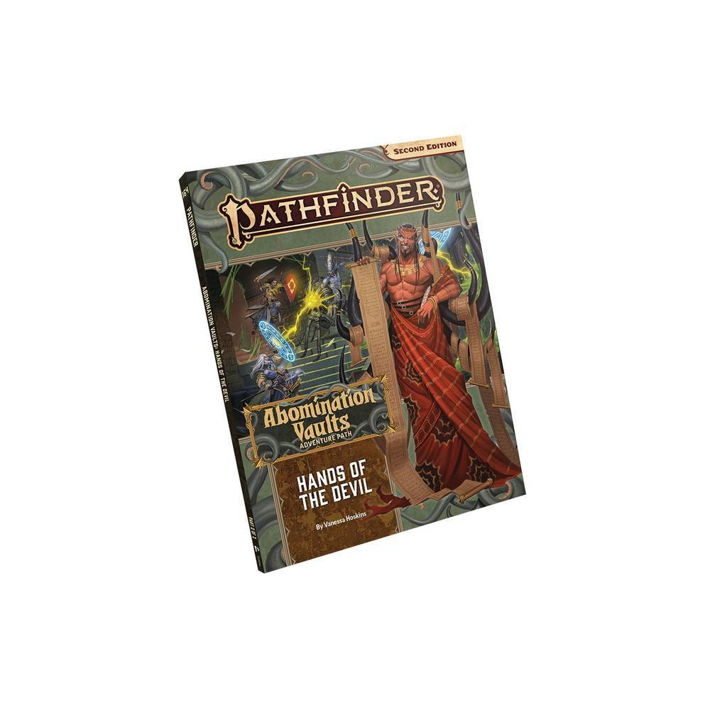 Pathfinder Adventure Path Hands Of The Devil Abomination Vaults 2 Of 3 P2 By Vanessa Hoskins Paperback