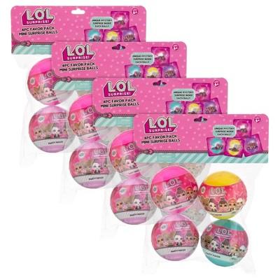 L.O.L. Surprise! 16pk Mini Surprise Party Balls with Necklaces Inside