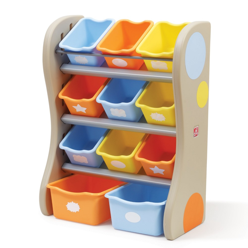 Step2 Fun Time Room Organizer - Tropical Colors, Multi-Colored