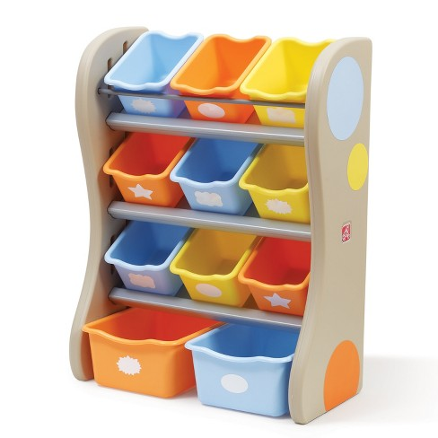 Step2 Fun Time Room Organizer Tropical Colors Target