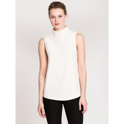 NIC+ZOE Women's The Perfect Mock Neck