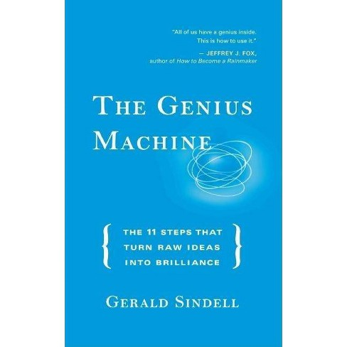 The Genius Machine - by  Gerald Sindell (Hardcover) - image 1 of 1