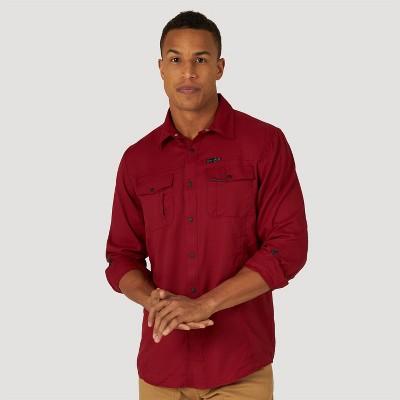 Wrangler Men's Button-Down Shirt