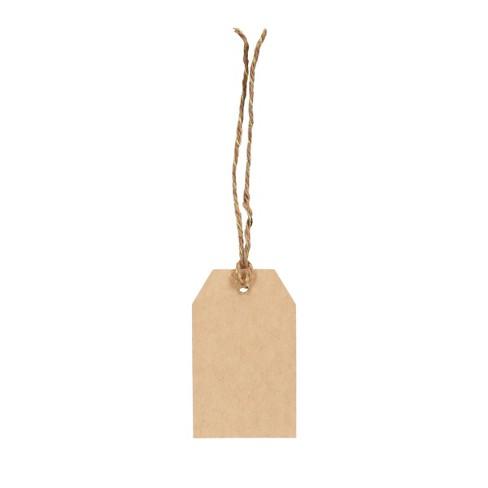 10ct Kraft Gift Tags Brown Spritz™ : Target