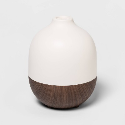 300ml Woodgrain Oil Diffuser White/Brown - Project 62™