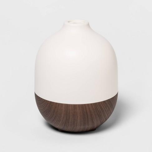 300ml Woodgrain Oil Diffuser White/Brown - Project 62™ - image 1 of 1