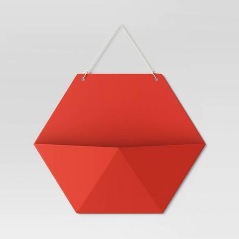 Hexagon Wall Pocket Shelf - Room Essentials™ - image 1 of 3