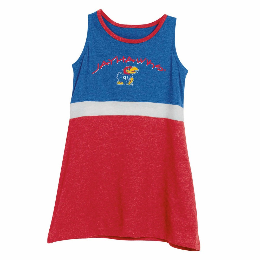 NCAA Toddler Dress Kansas Jayhawks - 3T, Toddler Girl's, Multicolored
