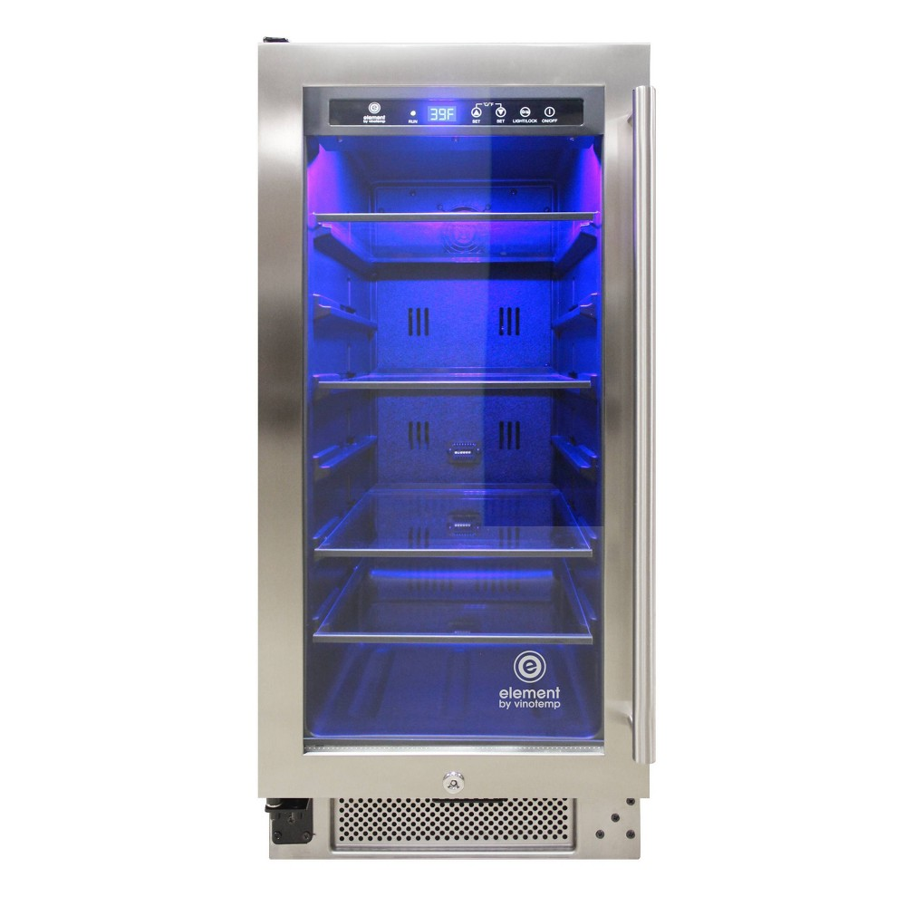 Image of Vinotemp International Connoisseur Series 33 Single-Zone Beverage Cooler (Left Hinge)