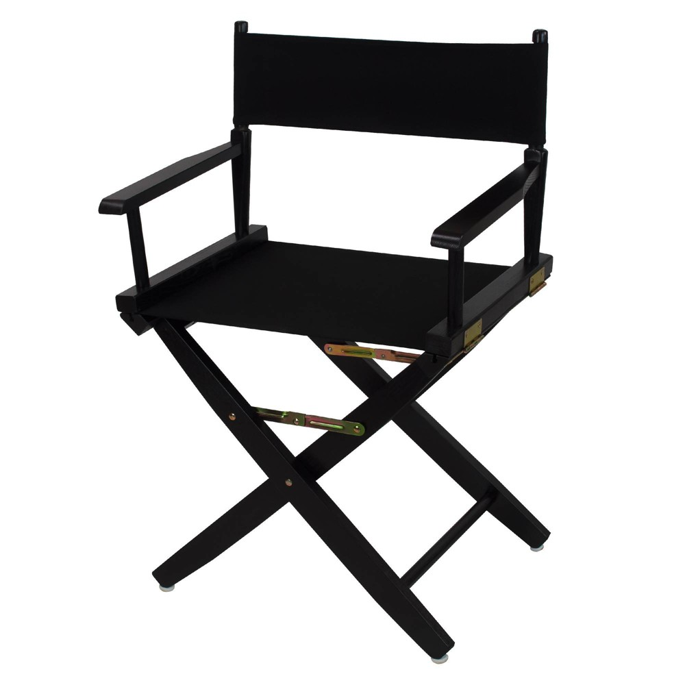 """Image of """"18"""""""" Extra Wide Directors Chair Black - Flora Home"""""""