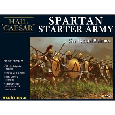 Spartan Starter Army Miniatures Box Set