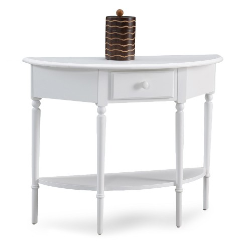 Console Table White - Leick Home - image 1 of 1