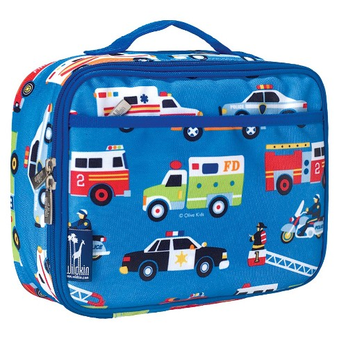 Wildkin Olive Kids Heroes Lunch Box - Blue - image 1 of 2