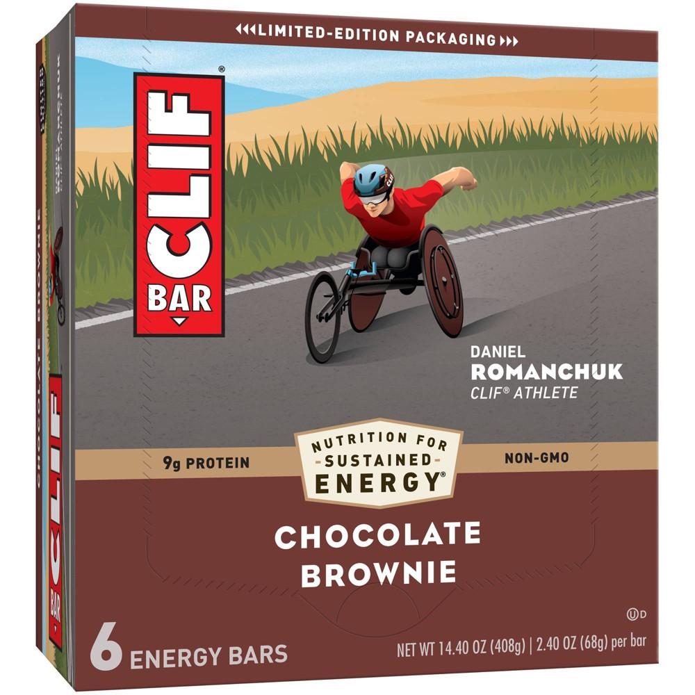 Clif Bar Chocolate Brownie Energy Bars 6ct