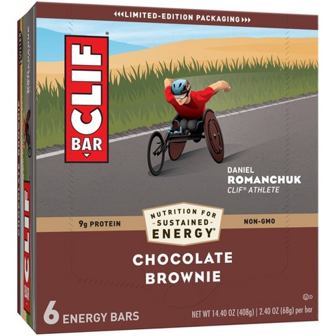 CLIF Bar Chocolate Brownie Energy Bars   - image 1 of 4