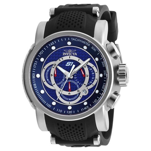 Men's Invicta 19320 S1 Rally Quartz Multifunction Blue Dial Strap Watch - Blue - image 1 of 1
