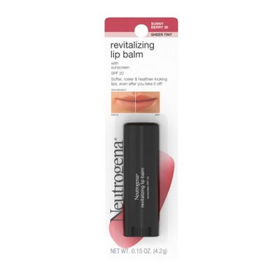 Neutrogena Revitalizing Lip Balm