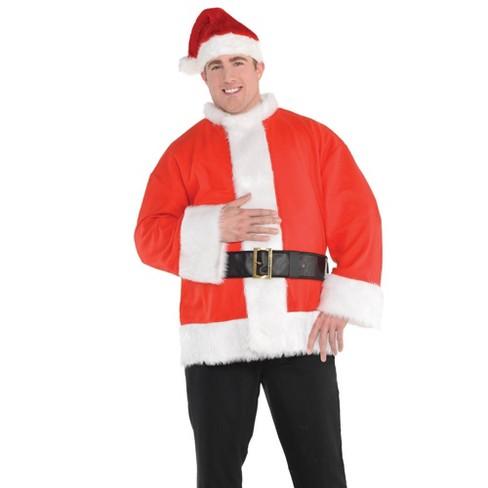 Santa Coat with Belt Adult Costume - Amscan - image 1 of 1