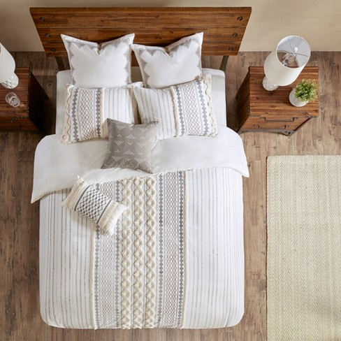 Imani Cotton Duvet Cover Mini Set - image 1 of 4