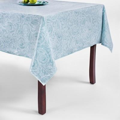 Blue Oilcloth Tablecloth 60 x84  - Opalhouse™