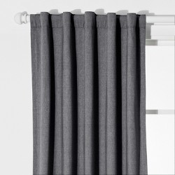 Chambray Blackout Curtain Panel - Pillowfort™