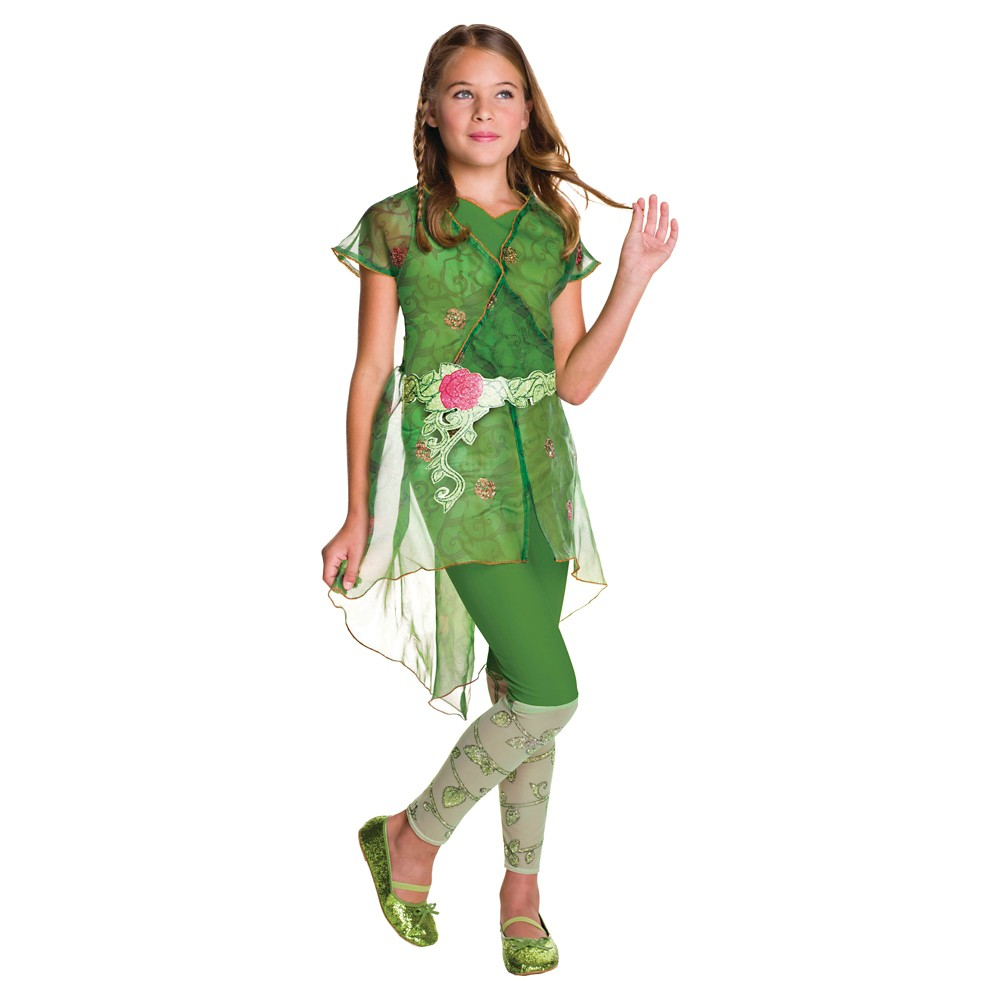 Best Shopping Girls DC Superhero Poison Ivy Deluxe Costume L12 14 Multicolored
