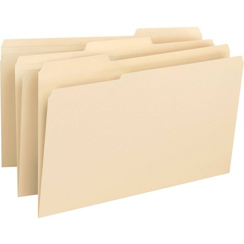 Business Source 50ct 1/3 Cut 1-Ply Tab File Folders - image 1 of 1