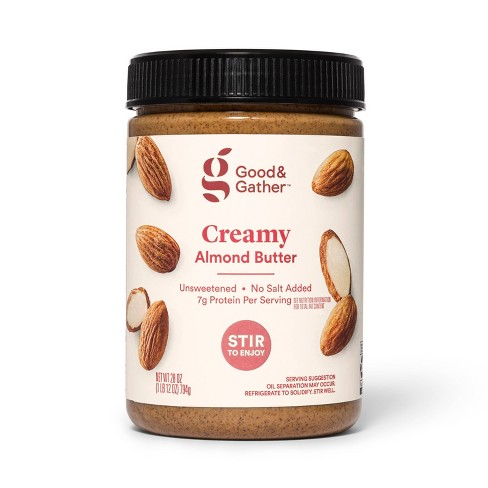Stir Creamy Almond Butter 28oz - Good & Gather™ - image 1 of 2