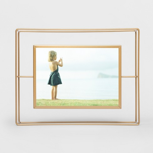 Wire Single Image Frame 5x7 Gold - Project 62™ : Target