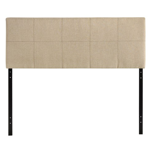 Oliver Queen Upholstered Fabric Headboard - Modway - image 1 of 2
