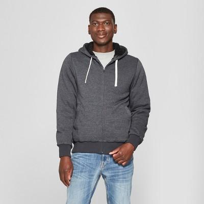 Men's Sherpa Fleece Jacket - Goodfellow & Co™ Black M