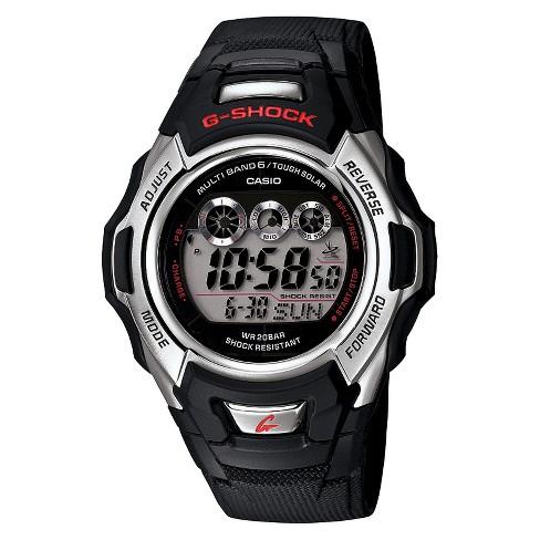 c85169a74558 Men s Casio Solar And Atomic G-Shock Watch - Black (GWM500A-1)   Target