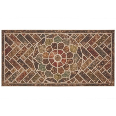 2'x4' Ornamental Entry Mat Brick - Mohawk