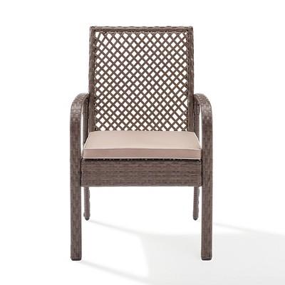 Tribeca Outdoor Wicker Dining Chair   Crosley : Target