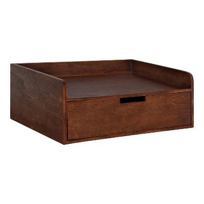 """18"""" x 12"""" x 6.5"""" Kitt Floating Shelf Side Table - Kate & Laurel All Things Decor"""