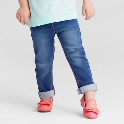 Toddler Girls' Jeggings - Cat & Jack™ Medium Wash 2T