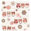 Owl Ya Doin Shower Pink Curtain - Homewear - image 2 of 2