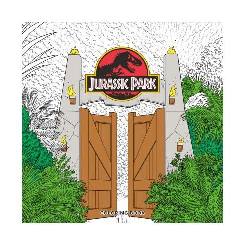 Jurassic Park Adult Coloring Book - (Paperback) : Target
