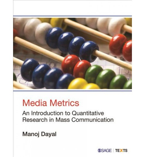 Media Metrics : An Introduction to Quantitative Research in Mass Communication -  (Paperback) - image 1 of 1