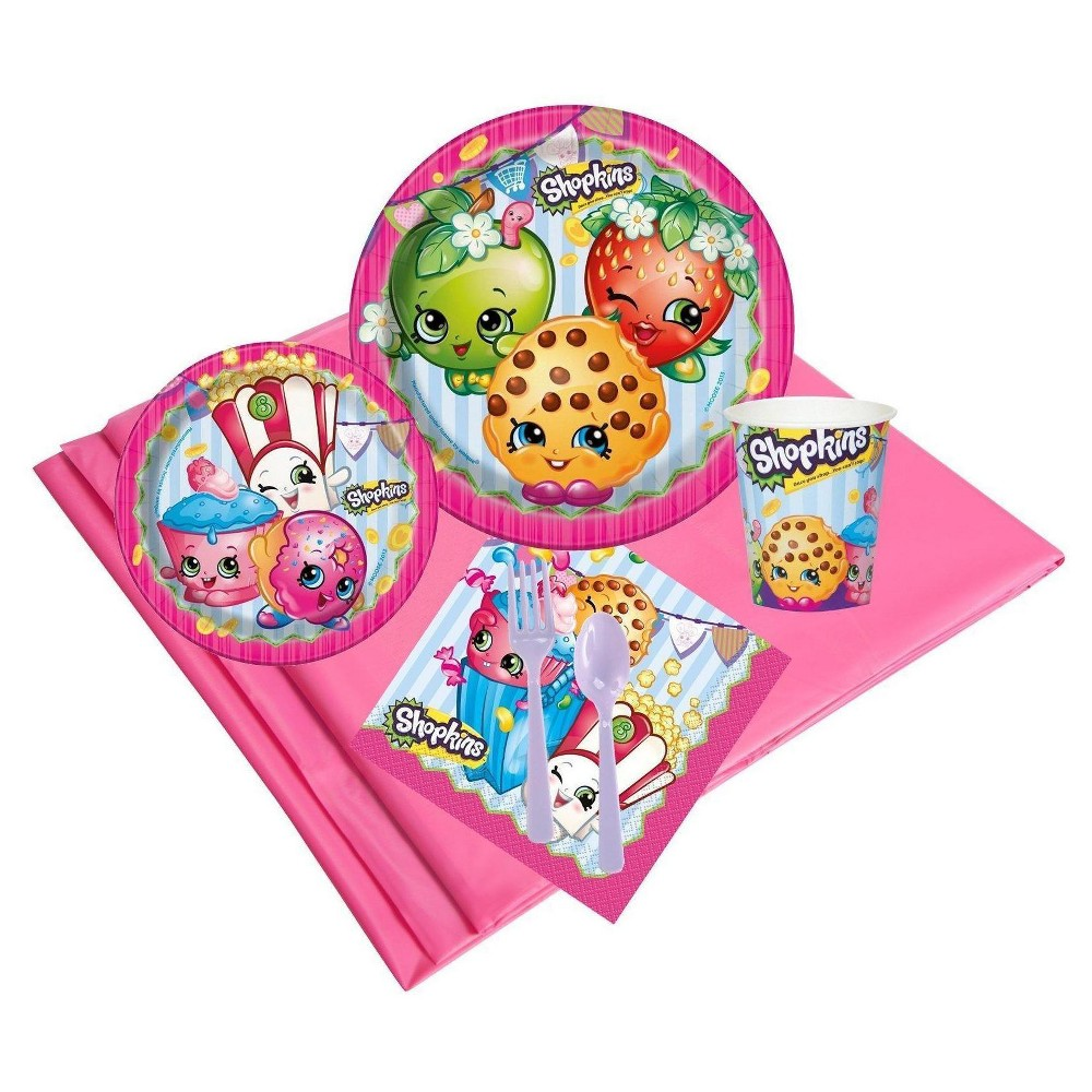 Image of Shopkins 24 Guest Pink Party Pack